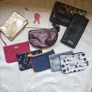 BUNDLE 9 cosmetic bags Sephora/Morphe/Lanc…